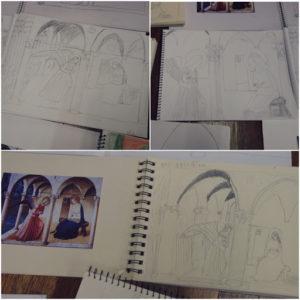 ArtStudyAnnunciation 1