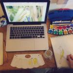 {Not So Random Pics} Sketches, Birds, Watercolor, Chinese, Science, Queen Elizabeth